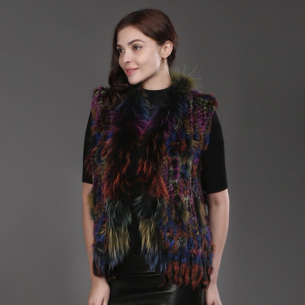 Fourrure Outwear Gilet Haute Vente Pour Marque 2017 Automne Réel 2 Femmes Mode Lapin 1 Sexy colorful Manteau De Colorful Les Qualité Hiver Manteaux TO5wqtxaw