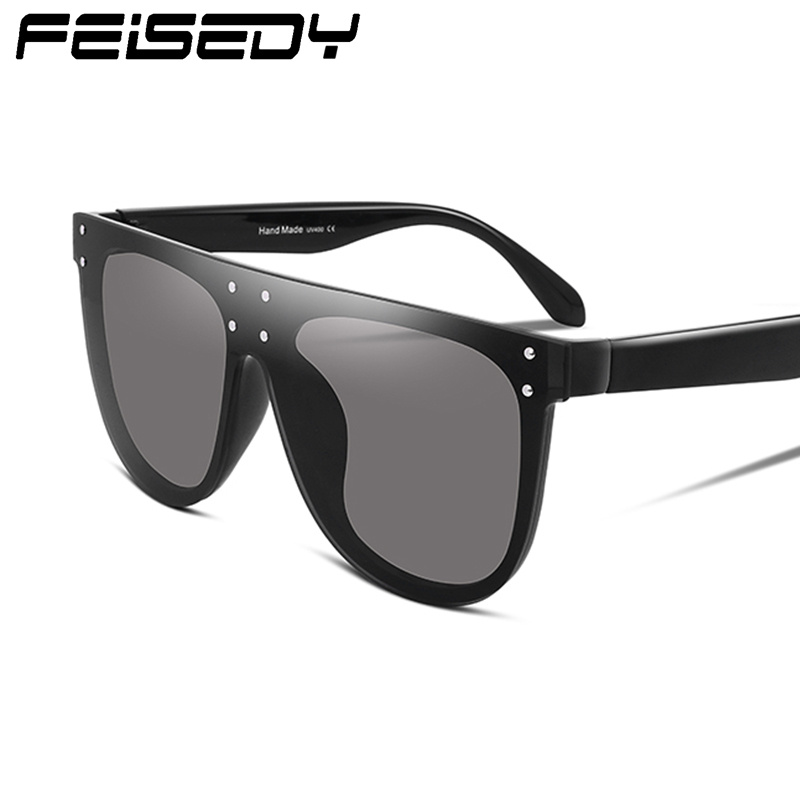 443945f8a3 FEISEDY Vintage Square Oversized Sunglasses Acetate Frame Polycarbonate  Lens B2285-in Sunglasses from Apparel Accessories on Aliexpress.com