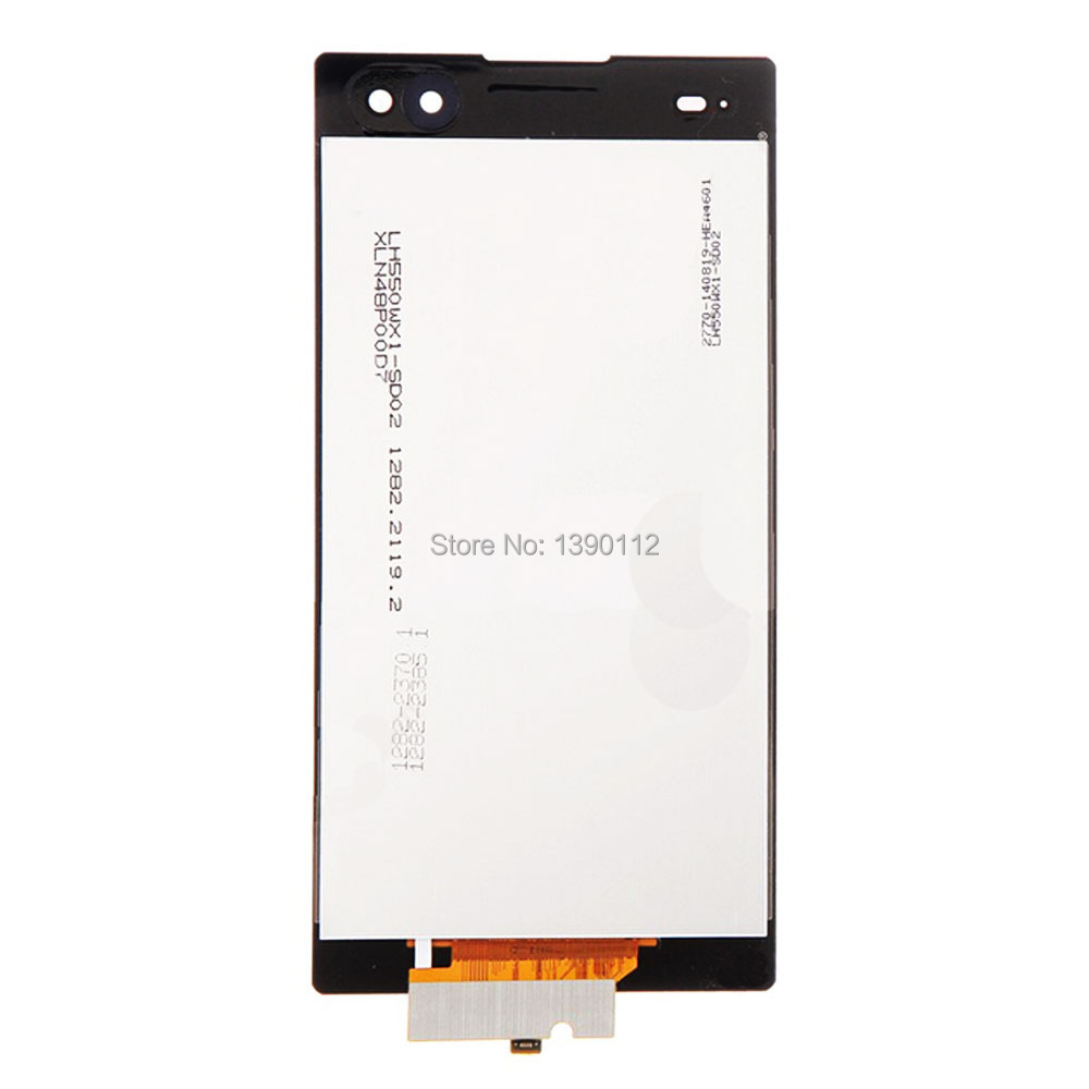 OEM For Sony Xperia C3 LCD Screen and Digitizer Assembly - Black