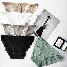 Summer wholesale women's panties cotton briefs mango print g