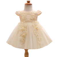 Baby Girls Dress Newborn Flower Ball Gown Dresses Brand Ceremonies Roman Clothing Style Cute Roupas De