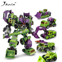 [Yamala] IN-STOCK Transformation Robot Ko Versio Gt Kaavin Devastator Right Thigh Action Kuva Lelut Outdoor Beach Lelut