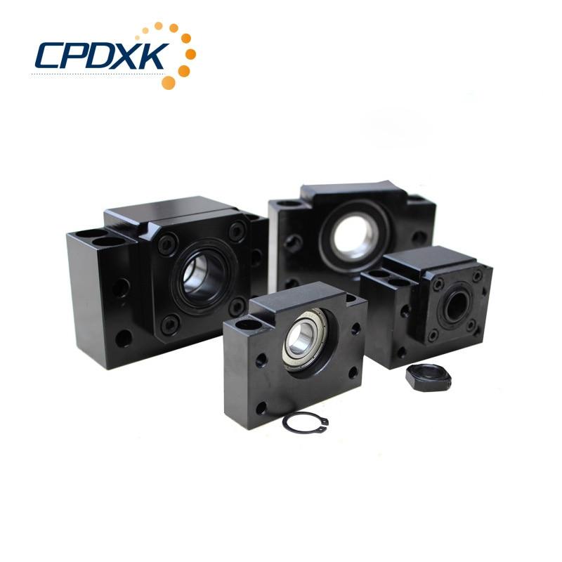 BK30 + BF30 Supports d'extrémité de vis à billes pour SFU4005/4010 CNC de vis à billes BKBF30 support d'extrémité