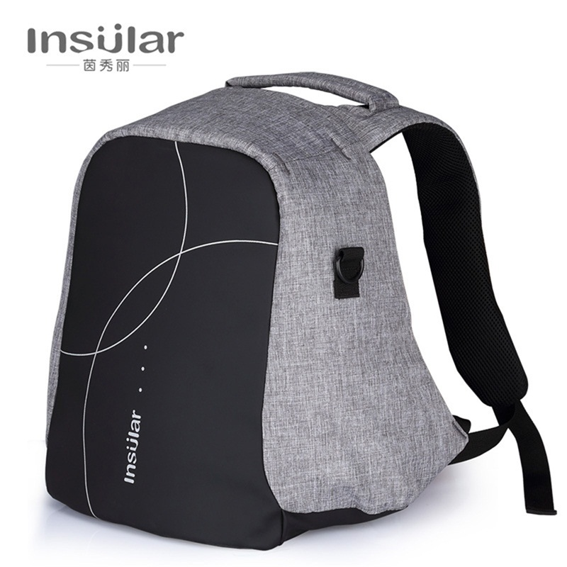 Insular Large Capacity Maternity Baby Diaper Bag Stroller for Mother Mummy Portable Messenger Shoulder Nappy Backpack Bag