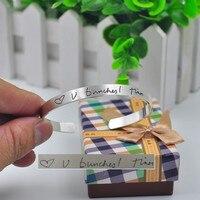Твердая рука написано браслет персонализированные почерк штамп манжета Пользовательские слова Stamp браслет памяти ювелирные изделия