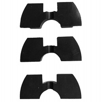 Almohadilla de goma para patinete eléctrico Xiaomi Mijia M365, accesorio modificado, horquilla frontal, vibración, evita la amortiguación, plegable, C