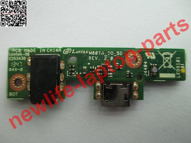 Original del ordenador portátil M80TA cargador usb audio junta M80TA_IO_BD prueba de buen envío libre