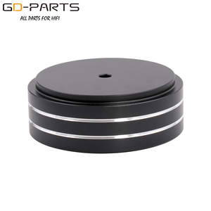 Image 4 - 58x22mm Solid Full Aluminum Speaker AMP Turntable Recorder Isolation Foot Spike Floor Base Pad Chassis Feet Stand Cone Hifi DIY