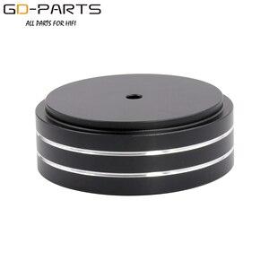 Image 4 - 58x22mm Solid Volledige Aluminium Speaker AMP Turntable Recorder Isolatie Voet Spike Floor Base Pad Chassis Voeten Stand kegel Hifi DIY