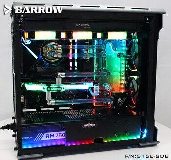 Barrow 515E-SDB, Waterway Boards For Phantek's 515E / 515ETG Case, LRC RGB v2, for Intel CPU & Single / Dual GPU Buildings 1
