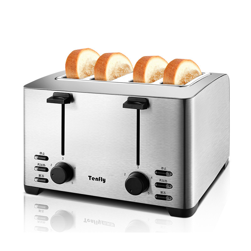 Toaster Household 4 Piece Breakfast Toast Hearth Driver Automatic Toaster DriverToaster Household 4 Piece Breakfast Toast Hearth Driver Automatic Toaster Driver