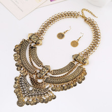 LZHLQ Vintage Bohemia Ethnic Maxi Statement Necklace Women Jewelry Personality Show Necklaces pendants Facroty Sale  collares
