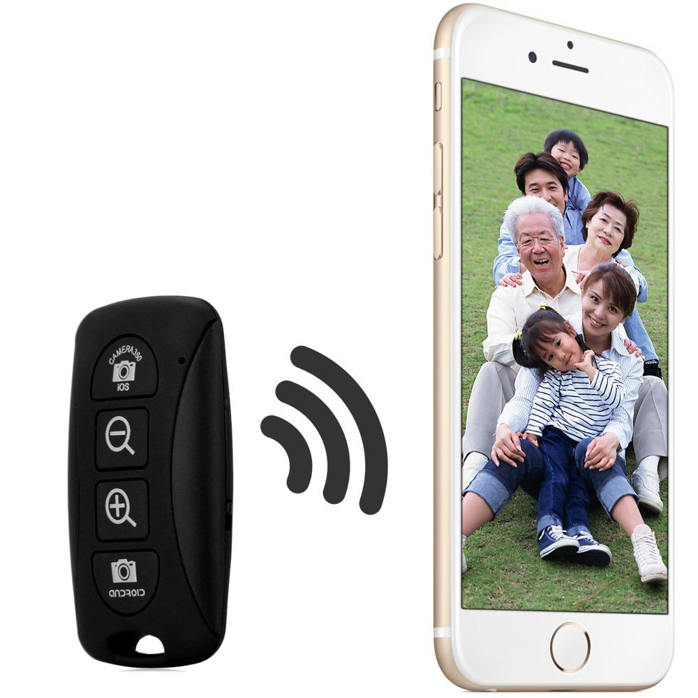 Camera Phone Control Android bluetooth remote control self timer camera shutter with zoom buttons for ios android phonewireless phone s in shutter