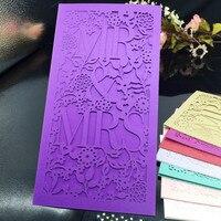 30Pc Lot Romantic Wedding Business Party Birthday Invitation Cards Wedding Party Invitation Card Envelope Delicate MR