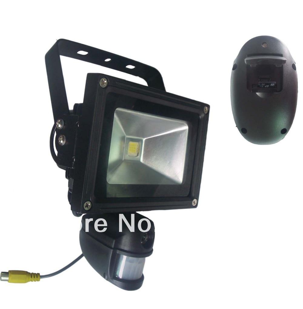 720P Waterproof HD PIR Camera & Recorder with High Power Floodlight & PIR Sensor for Motion Detection Max 32Gb TF Card Support недорго, оригинальная цена