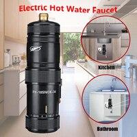 220 В 3400 Вт мгновенный нагрев Электрический горячий кухонный Электрический кран водонагреватель система горячей воды душ кран ванная кухня