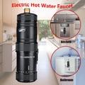 220 v 3400 w Instant Verwarming Elektrische Hot Keuken Elektrische Kraan Boiler Warm Water Systeem Douche Tap Badkamer keuken