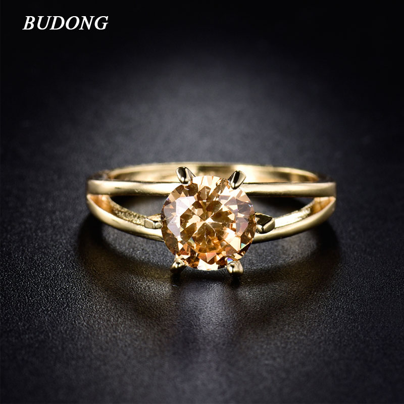 BUDONG Valentine's Day Gift Women Gold-C