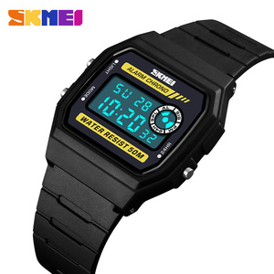 SKMEI Для женщин мода спортивные часы Lover Пара наручные часы Секундомер Будильник цифровые часы Водонепроницаемый PU ремешок Часы Relogio Feminino