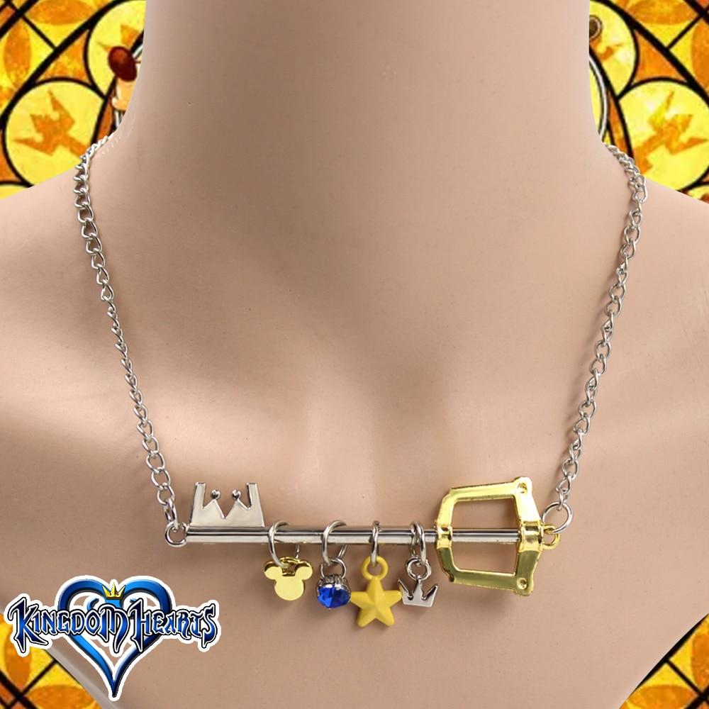 Kingdom Hearts Cosplay Costume Accessory Sora Necklace