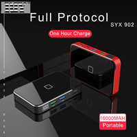 RIY Graphene powerbank wireless 10000MAH power bank with type c PD QC3.0 USB c charger for xiaomi huawei and iphone
