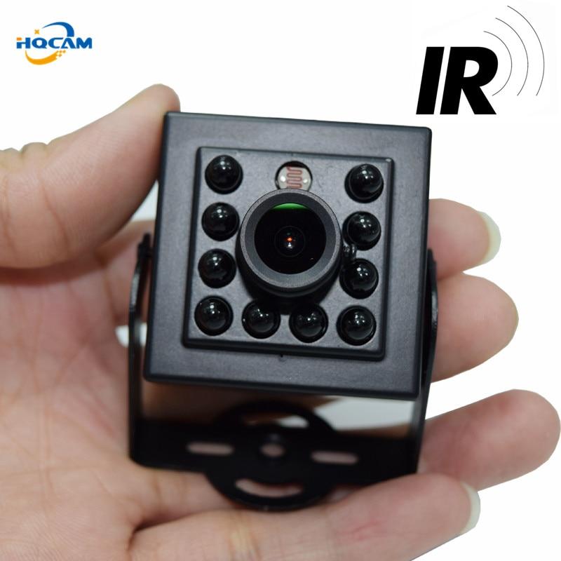 HQCAM 1080P Mini AHD Camera 2000TVL Night Vision camera 10Pcs 940nm Invisable IR Leds Security Indoor Mini Camera Ahd IR Camera