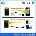 130 Special Price li-polymer external 3000mah solar panel charger