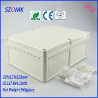 plastic electronic project box (1 pcs)267*197*103mm high quality brand box electronics enclosures for pcb distribution box