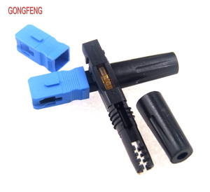 Image 2 - GONGFENG connecteur rapide pour Fiber optique, simple Mode SC/UPC, 100 pièces, FTTH, connecteur rapide encastré, vente en gros, spécial