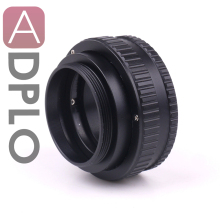 цена на M42 to M42 Adjustable Focusing Helicoid Adapter 15-26.5mm 15mm to 26.5mm Macro Extension Tube Screw mount Lens Camera