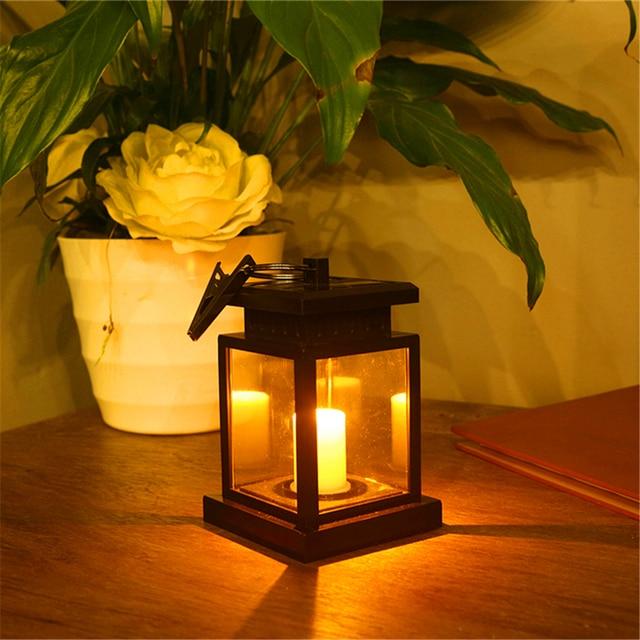 Fée Solaire lumière LED bougie lampe éclairage extérieur luminaria ...