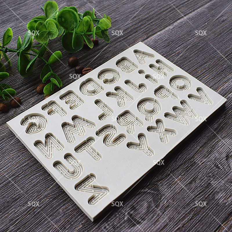 3D Neon Letters Style Cake Mold Kitchen Access - Тағамдар, тамақтану және бар - фото 3