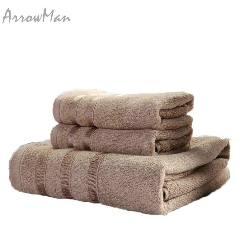 100 bamboo face hand bath towel set for adult bathroom 630g 3pcsset beach
