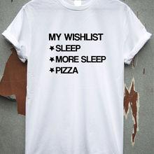 MY WISHLIST Funny T shirt Birthday Present Joke Mens Womens