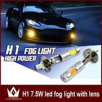 2 X High Power H1 LED DC 12V Auto Car LED Daytime Running Lights Headlight DRL