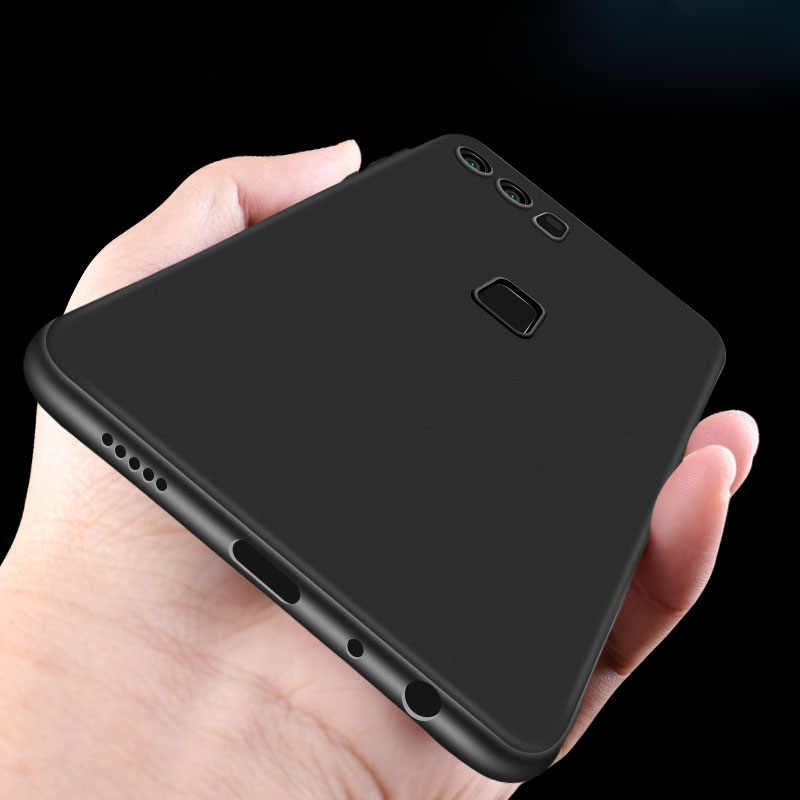 Matte TPU Phone Case For Huawei P20 Mate 10 Lite Pro P10 P8 P9 Lite 2017 Y9 2018 Nova 3e Enjoy 8 Plus For Honor 9 8 Lite Cover