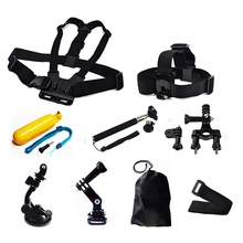 Go pro Accessories Harness Head Strap Chest Wrist Band Belt Mount For Camcorder Gopro 4/3/2/1 For Xiaomi Sport Camera