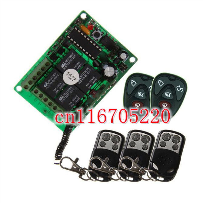 Online Buy Wholesale outdoor light remote control from China ...:DC 12V 4 Channel Wireless Switch Power/Relay/Outdoor/Remote Control Light  Switch,Lighting