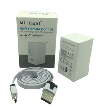 Milight YT1 WiFi Remote compatible with 2.4GHz RF Series Product Smartphone App Wireless Control DC5V/500mA(Micro USB)