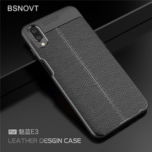 For Meizu E3 Case Soft Silicone PU Leather Shockproof Anti-knock Cover Meilan 5.99 BSNOVT