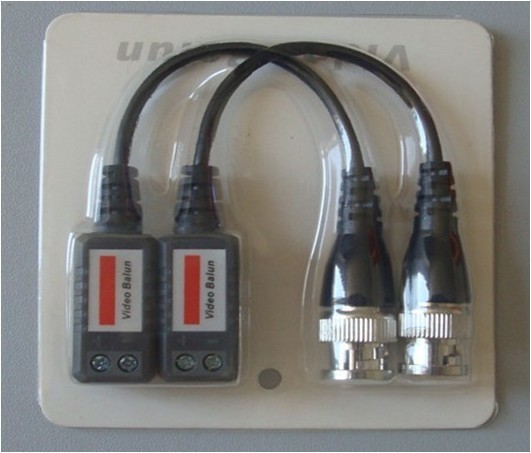 CCTV Video Balun Transmitter, 1channel passive UTP video balun