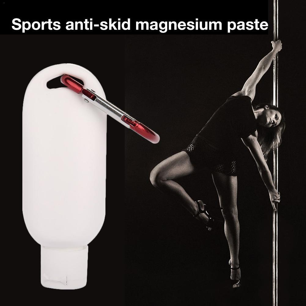 50ml Anti-slip Cream Non-slip Magnesium Powder Gymnastics Physical Education Sports Magnesium Powder Hook Bottle