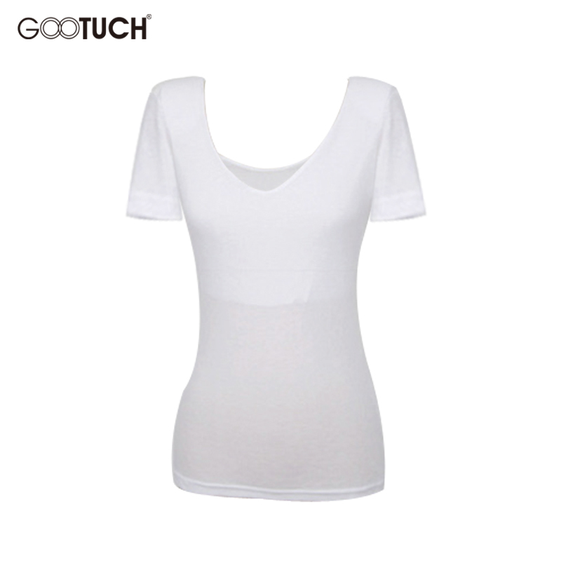 T-Shirts Women Double Layer Ladies Tops Summer Pure Color V Neck Womens T Shirt 4XL 5XL Short Sleeve Female Shirts G-2308