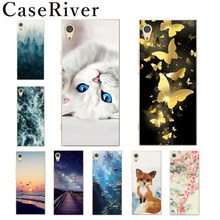 CaseRiver FOR Capa Sony Xperia XA1 Case G3112 Soft Silicone sFOR Sony Xperia Z6 Case Cover Phone Back FOR Coque Sony XA1 Case(China)