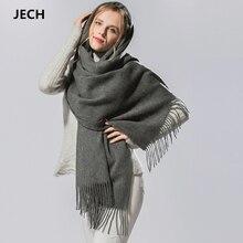 Hot Sale Cashmere Wool Scarf Pashmina Scarf Wrap Shawl Autumn Wrap Scarf Women's Men's Scarves Tassel Long Blanket High Quality