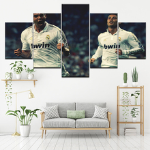 Canvas Painting Ricardo Kaka Real Madrid 5 Pieces Wall Art Modular Sport Wallpapers Poster Print living room Home Decor