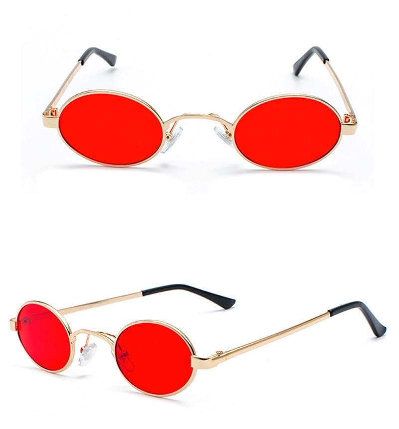 Tiny Oval Sunglasses Men detail (9)