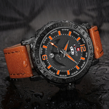 NAVIFORCE Military Watches Men Fashion Quartz Analog Clock Leather Strap Calendar Date Waterproof Luxury Brand Sports Watch 2019 цена в Москве и Питере