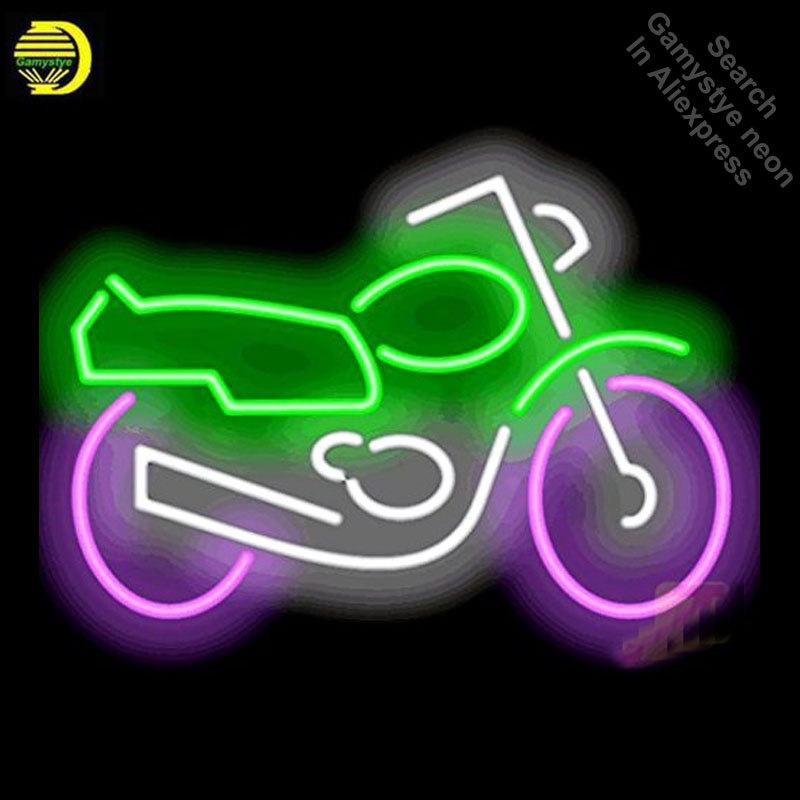 Neon Signs for Motorcycle Light Sign Handcrafted Neon Bulbs sign Glass Tube Decorate Restaurant Store Wall Signs dropshippingNeon Signs for Motorcycle Light Sign Handcrafted Neon Bulbs sign Glass Tube Decorate Restaurant Store Wall Signs dropshipping
