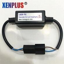 Xenplus 2pcs Canbus Decoders 12V H7 H11 H8 9005 9006 Car Headlight Fog Lamp Error Free Warning Canceller Capacitor Load Resistor